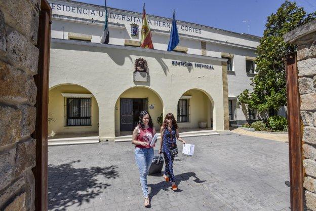 Los alumnos del conservatorio podr n vivir tambi n en la for Residencia universitaria hernan cortes