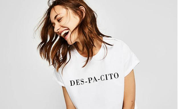 Camiseta 'Despacito'. /Bershka