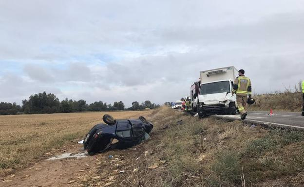 Accidentes en la EX-209 desde 2014
