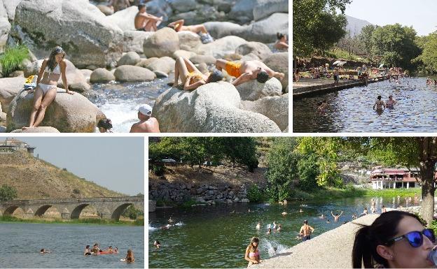52 piscinas naturales y r os que el ses aprueba para el ba o hoy - Piscinas naturales badajoz ...