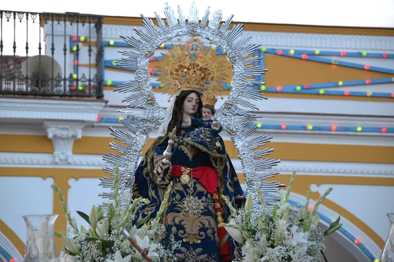 La Virgen De La Estrella Inundo De Emociones Las Calles Del Pueblo