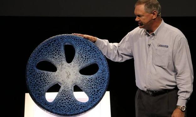 La rueda 3D presentada por Terry K. Gettys.