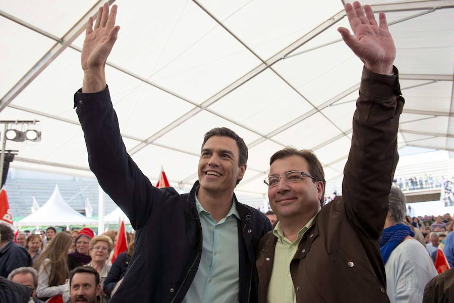 El presidente de la Junta, con Pedro Sánchez.