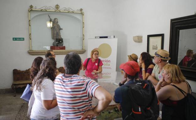 Los hoteles de Cáceres rozan el 80% de ocupación estos días