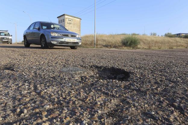 Pavimento Que Es : La mejora del pavimento polígono el prado en mérida se hará