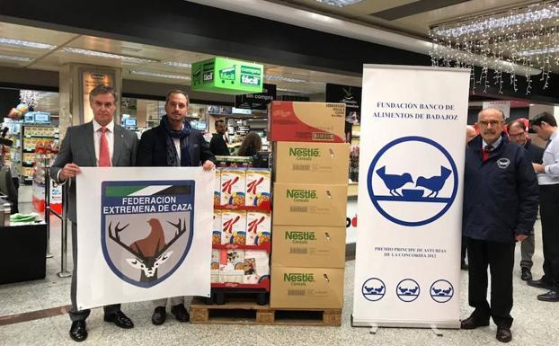 Productos donados en Badajoz:: FEDEXCAZA/