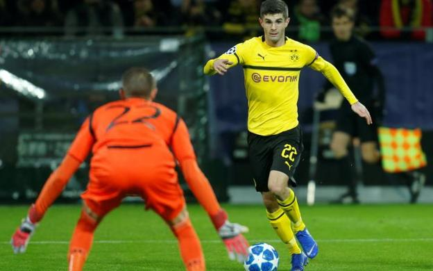 Christian Pulisic (64 millones)