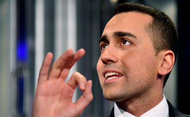 El líder del Movimiento Cinco Estrellas, Luigi Di Maio. /Afp