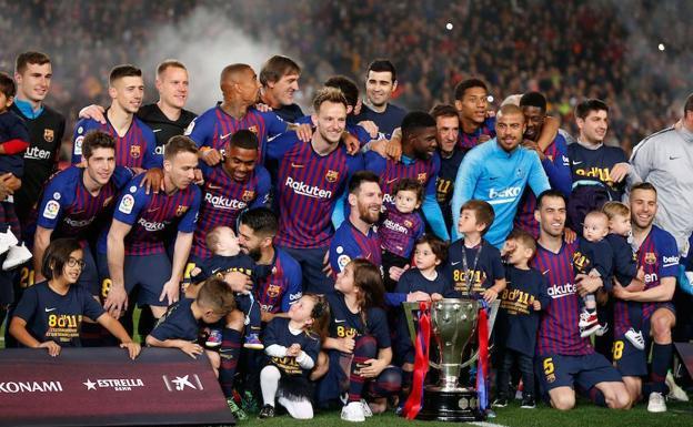 mejor elección descuento mejor valorado mejor Messi sella otra Liga para el Barcelona   Hoy
