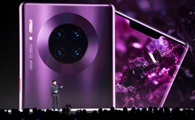 Presentación del Huawei Mate 30./EFE