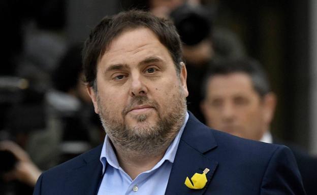 Oriol Junqueras, líder de ERC./AFP