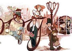 Google Recuerda A Charles Dickens Con Un Doodle Hoy